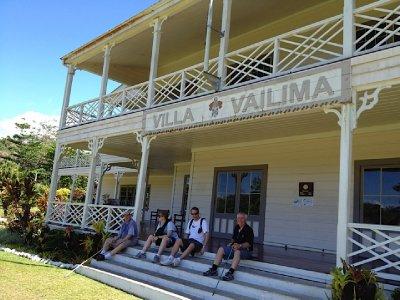 Robert Louis Stevenson's home  Samoa  2012