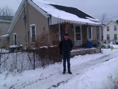 The house in which my Grandfather Williamson was born in 1879.      St Catharines, Ontario, Dec 2012