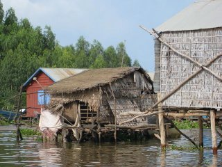 Floating Village outside of Siem Reap