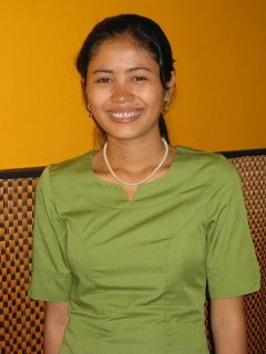 Shop gal in Siem Reap