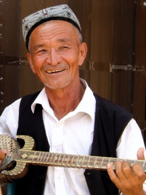 Portrait of Local Musician