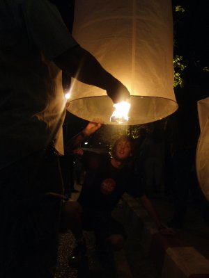 Paper Lanterns for the New Year