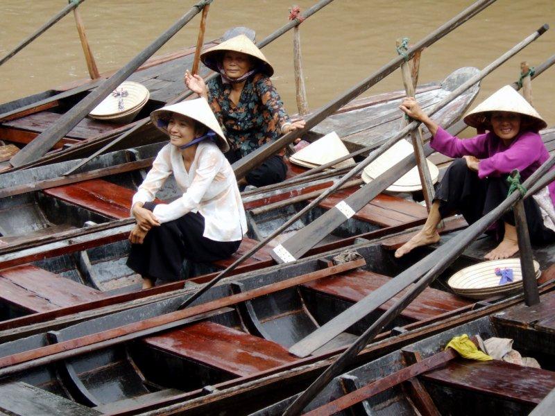 Mekong Sampans