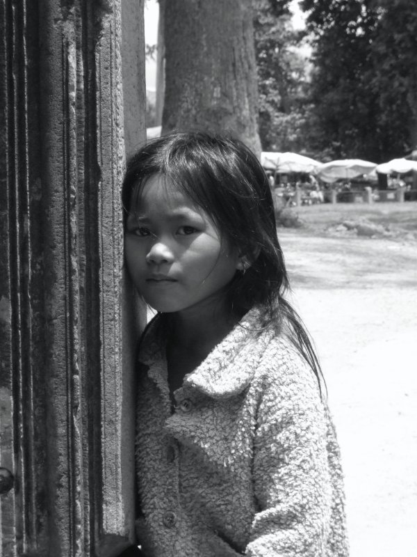Young Girl at Banteay Srei