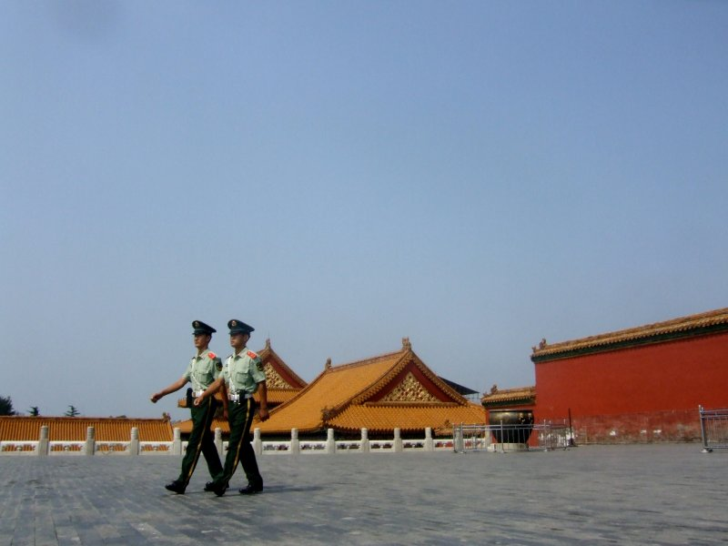 Palace Guards at The Forbidden City