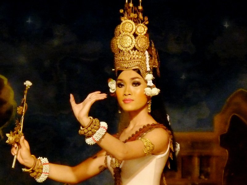 Apsara Dancer in Costume