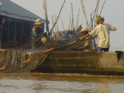Floating Fishing Villages - Tonle Sap Lake
