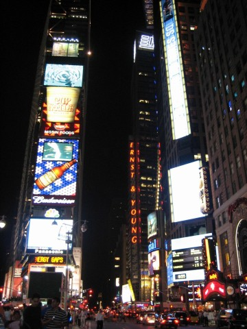 Times Square - Night Time
