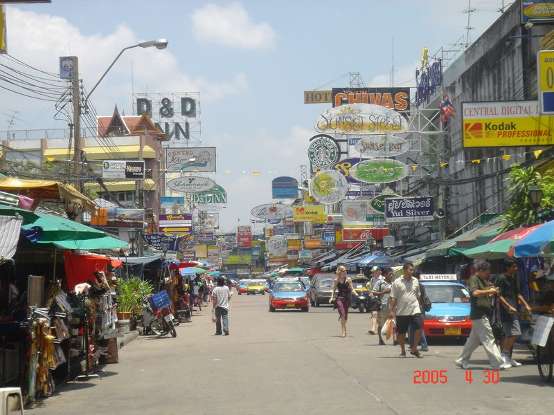 Khao San Road  - Day Time (Bangkok)