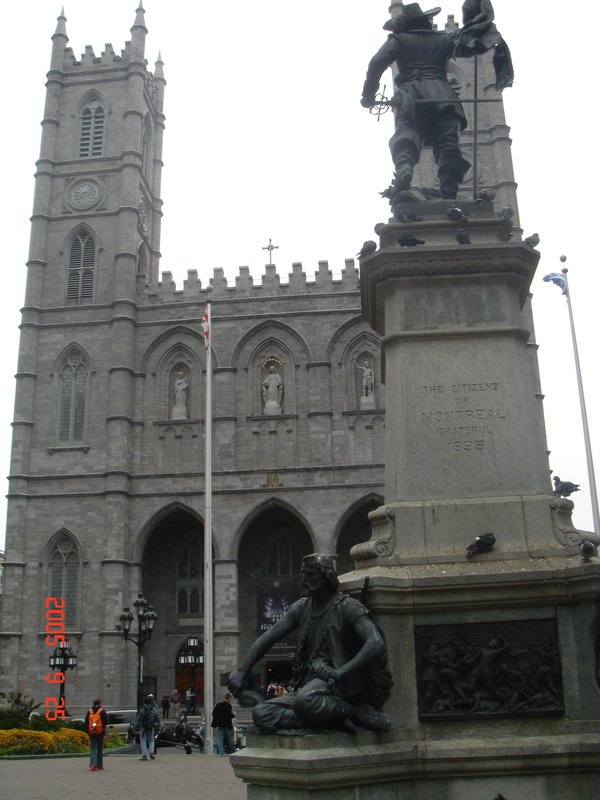 Notredame - Old Montreal