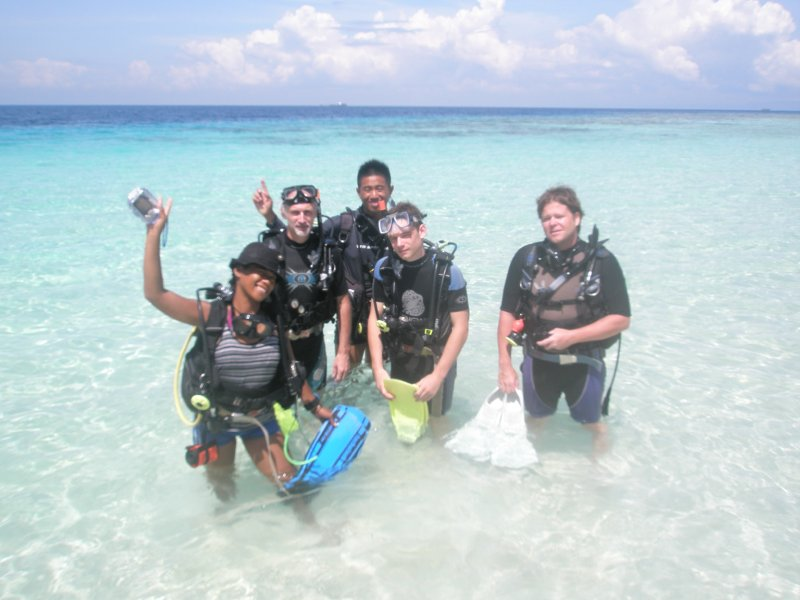 Padi open water dive course