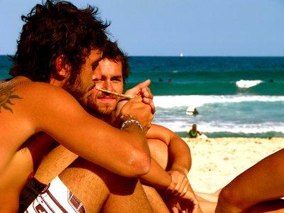 Brazil on Bondi Beach