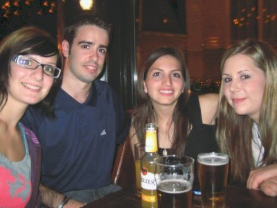 Steffi, Alex, Natalia, Jennifer, Fiddler's
