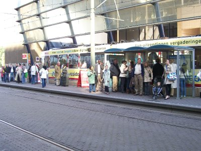 Tram stop, Centraal Station