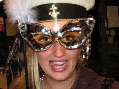 Christina, Maskarade party