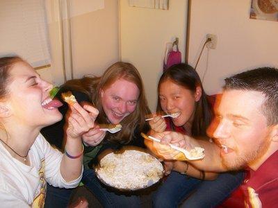 Sharing a pie