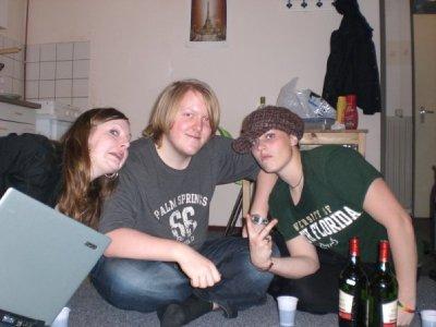Emma, Steven, Paige