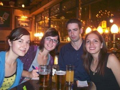 Friends, Stephanie, Steffi, Alex, Natilia, Fiddler's