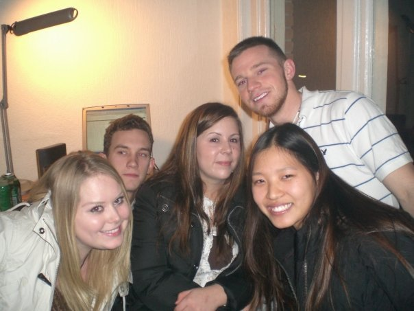 Morgan, Greg, Jennifer, Aaron, Jinny