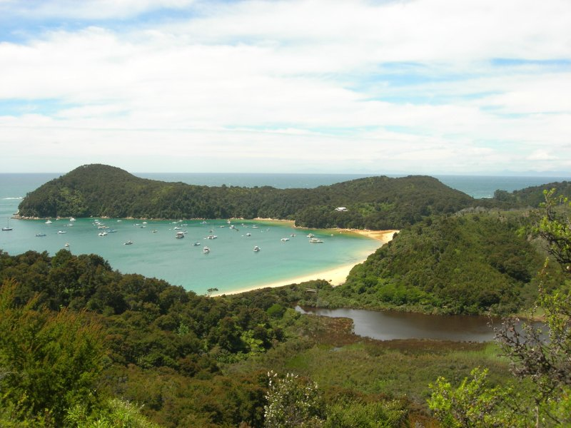 Abel Tasman Park, Anchorage Bay