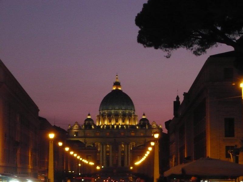 Road to Vatican - Dusk