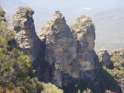 Three Sisters from Echo Point in Katoomba
