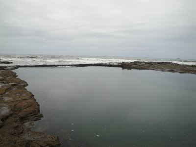 Rock Pool at North Beach (Wollongong Harbor)