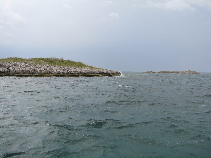 First Island of the Exuma Cays- Sail Rocks