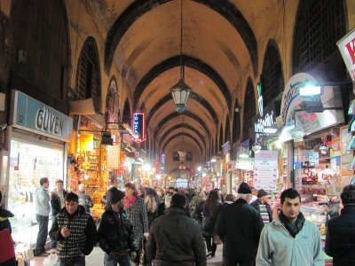 Inside the Spice Bazaar