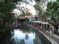 The Riverwalk,San Antonio