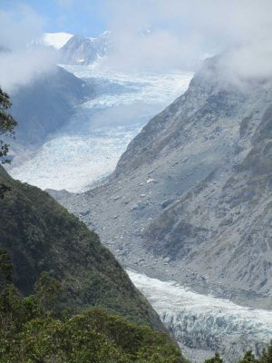 Fox Glacier View Point from Road