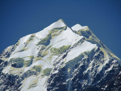 Mt. Cook.  Tallest Peak in New Zealand