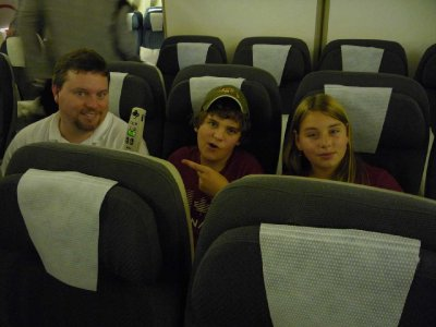 On The Plane To Auckland
