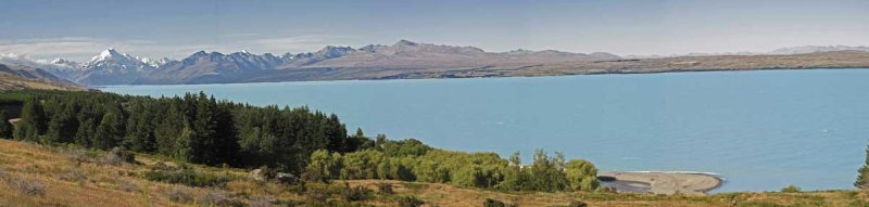 Mt Cook and Lake Pukaki from Peters Lookout