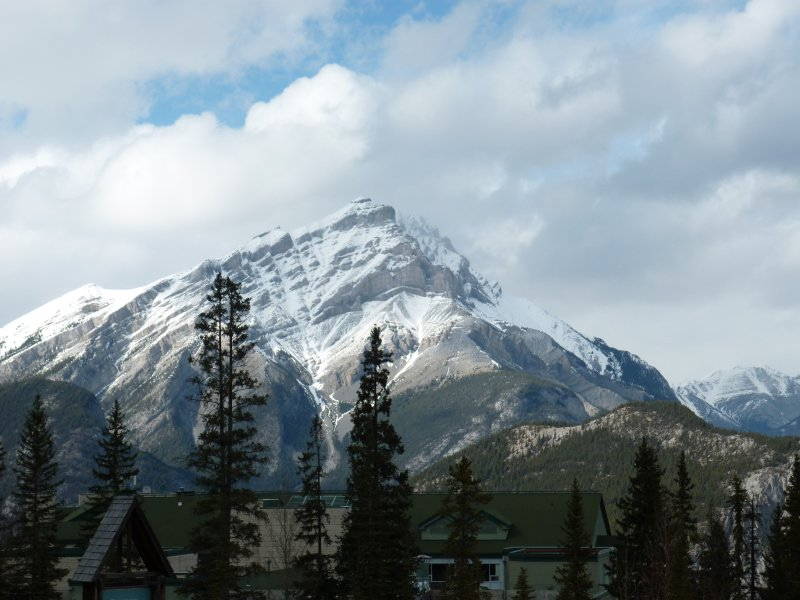 View from Mt Norquay