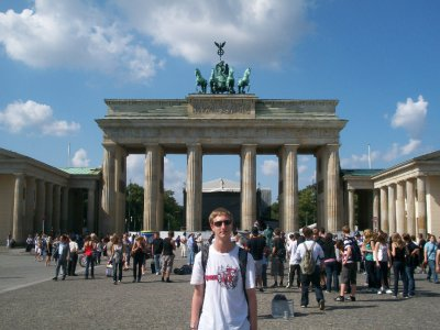 typical brandenburg gate photo