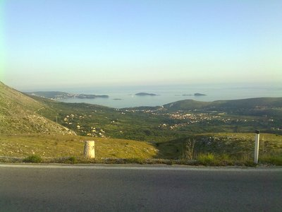 1st blick on Adriatic see