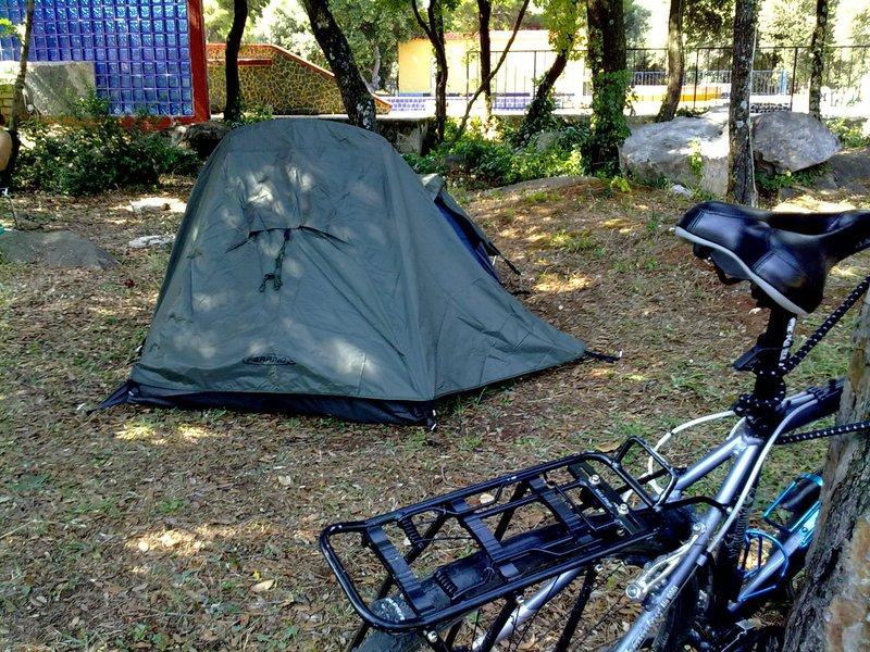 my new super light tent