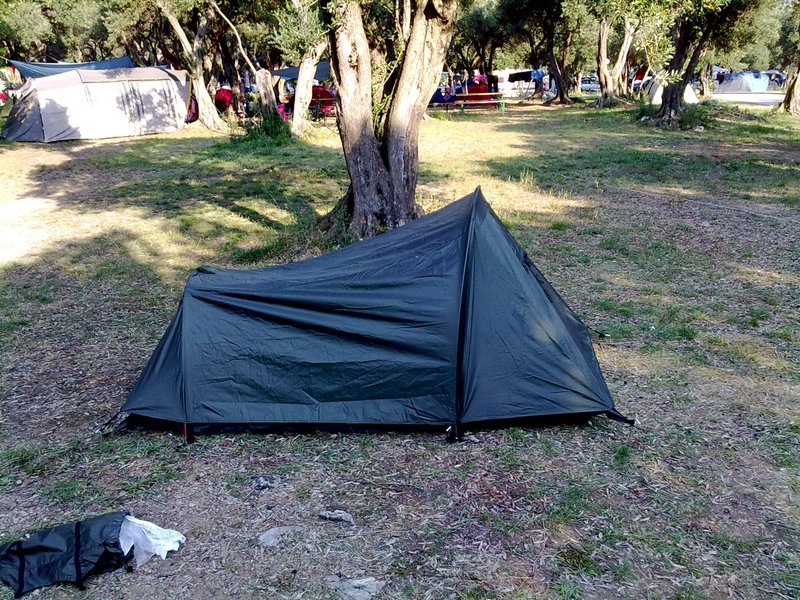 finished tent