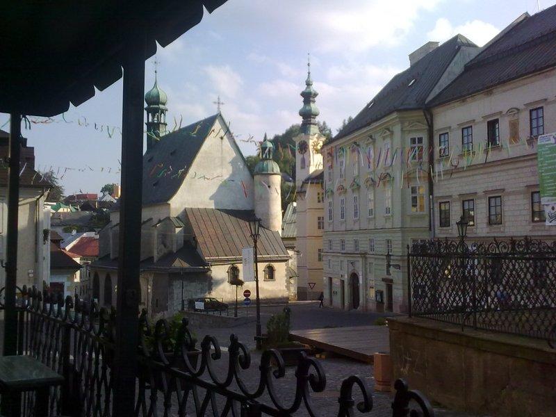 Banska Štiavnica old town