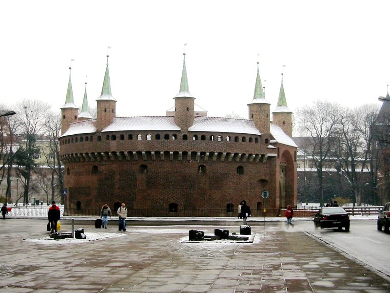 Barbican in Krakow