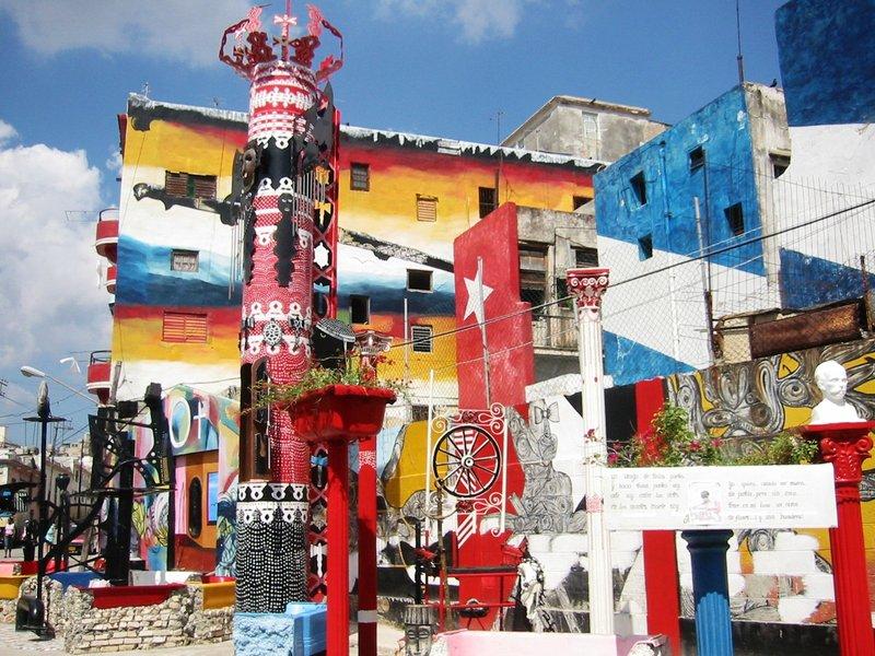 Murals in Havana