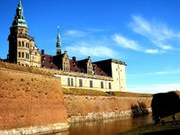 Helsingor Castle in Denmark