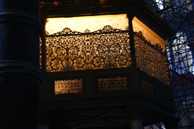 Balcony at Aya Sofya