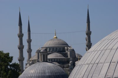 Great mosque from the Aya Sofya wındow