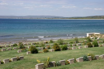 Beach Cemetary at ANZAC Cove