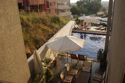 An actual pool