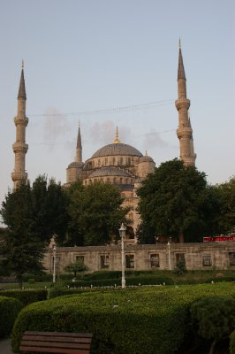 Early mornıng pıc of the Blue Mosque
