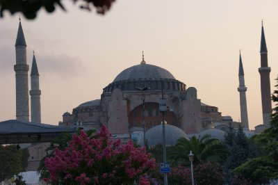 The Aya Sofia at dawn