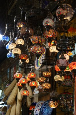 Lanterns at the Spıce Markets